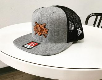 Heather Grey Duke City Hat