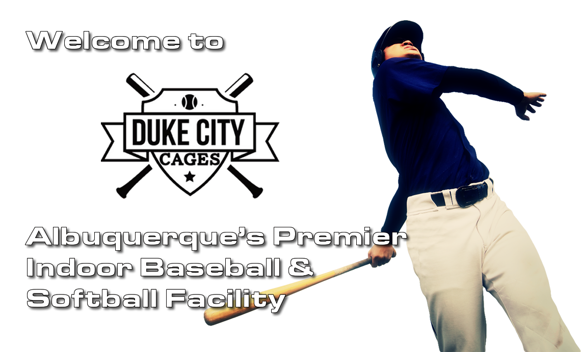 Albuquerque's Premier Indoor Baseball and Softball Facility